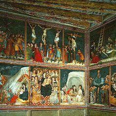 Frescos de la Capilla de San Miguel del Monasterio (Barcelona, 1341-1346. Ferrer Bassa