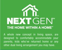 Next Gen The Home Within A Home On Pinterest Charlotte