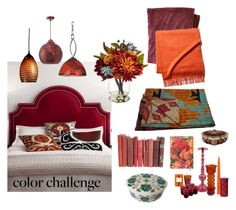 """""""pumpkin and burgundy"""" by shannonsmilez ❤ liked on Polyvore featuring interior, interiors, interior design, home, home decor, interior decorating, L.L.Bean, Massoud, Home Decorators Collection and Woodbridge Lighting"""