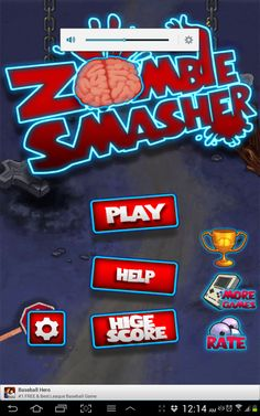 Zombie games for your Smartphone, the Zombie Smasher - News - Bubblews
