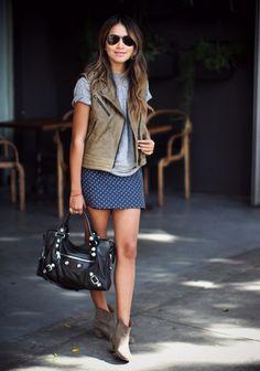 sincerely jules - love her! sincerely jules - love her! Sincerely Jules, Mode Style, Style Me, Moda Outfits, Inspiration Mode, Lookbook, Skirt Fashion, Spring Summer Fashion, Ideias Fashion