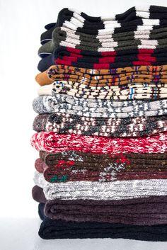 Winter socks from Japan'sAnonymous Ism