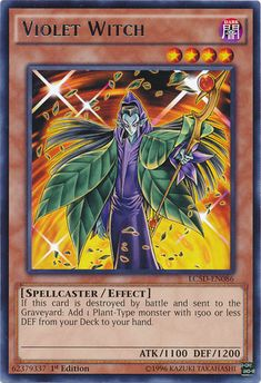 yugioh violet witch - Google Search