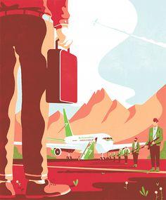 Illustrations by Tom Haugomat   Inspiration Grid   Design Inspiration
