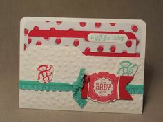 Babykarte File Folder mit Envelope Punchboard