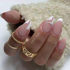Square Nail Designs, Cute Nail Designs, French Nails, Cute Nails, Pretty Nails, Hair And Nails, My Nails, Nail Manicure, Nail Polish