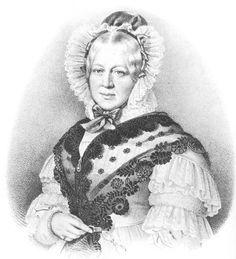 1838 Henriette of Württemberg after Anton Einsle