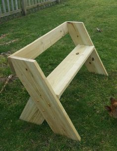 Garden Bench Plan/wood bench plan/porch bench plan/patio banch plan/single seat bench/wood seat plan/patio seat plan/wood pdf plan/pdf plan - DIY Home Decor Garden Bench Table, Garden Bench Plans, Porch Bench, Diy Garden Benches, Bench Seat, Diy Patio, Picnic Table, Woodworking Projects Diy, Diy Wood Projects