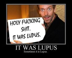 That's what I felt like telling my doctor when she came up with my diagnosis