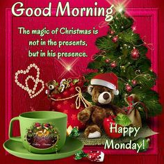 Good Morning, Happy Monday. I pray that you have a safe and blessed day!!
