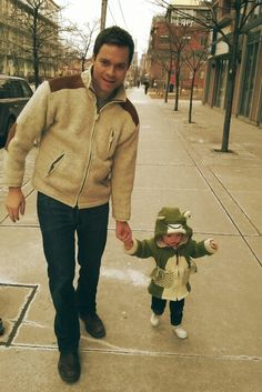 Tom and Abby cruising down King West, Toronto ON