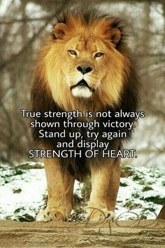 #StrengthOfHeart #Courage