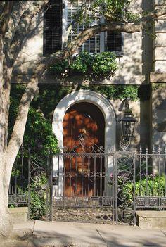 In the Studio: Skip down the street - Legare Street, Charleston, SC