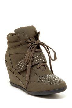 Kelda Wedge Sneaker - I want them in black