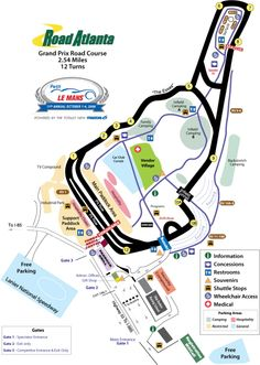 Road Atlanta. Love the elevation changes on this track