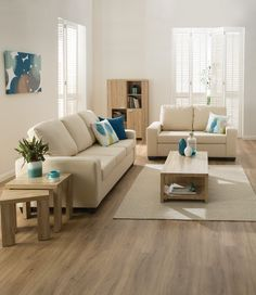 The beautiful Havana range features a stunning light oak textured finish to create a refreshingly bright and breezy look in your home. Living Spaces, Living Room, Orange Walls, Lounge Decor, 2 Seater Sofa, Light Oak, House, Havana, Furniture