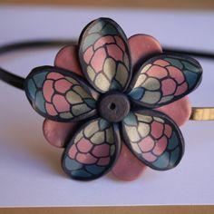 Diadema flor en frío / Zazu y sus cosas - Artesanio