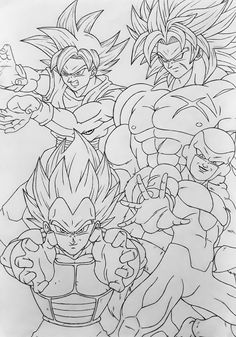 1448 Best Dragon ball draw images in 2019 Dragon ball z