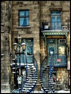 Row House, love the stairs
