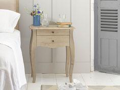 Wooden Élöise bedside table