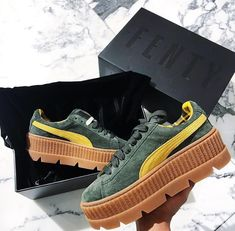 "Puma cleated Creeper suede WN's ""vanilla"" // Foto: i.am.rachel 
