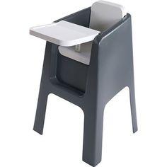 Hoppop Chaise haute bébé trono grey/ blanc