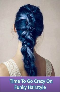 If You wanna give you a complete new look in 2016 you should try Funky Hairstyle, here you will get here 20 popular funky hairstyles to get younger and stylist look.