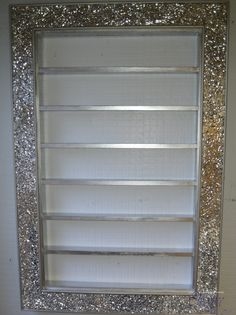 Mosaic Crackle Mirror Nail Polish Rack for OPI CND GELISH polish