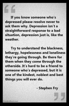 Depression and grief are closely related