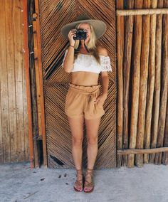 On a Cenote Safari   Outfit by @mura_boutique | @fujifilmx_us #rivieramaya #mexico #cenote #safari #travel #style by theblondeabroad