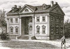 A country mansion once on the Upper West Side