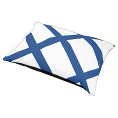 Finland flag pet bed  $73.85  by AwesomeFlags  - cyo customize personalize diy idea