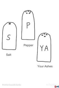 Salt and Pepper and Dust