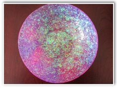 DIY Glam Resin Glitter Bowl How To Craft