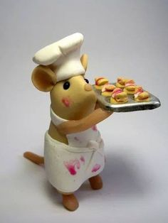 *SORRY, no information as to product used ~ I present to you this Chef Mouse! Good Morning! ChefMouse