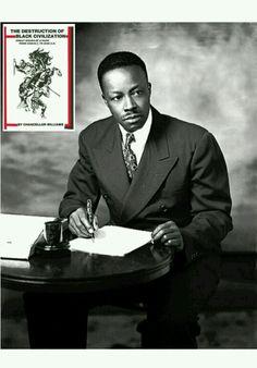 Historian Dr. Chancellor Williams, b. 12/22/1898, The Destruction of Black Civilization
