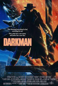 Darkman (1990) poster