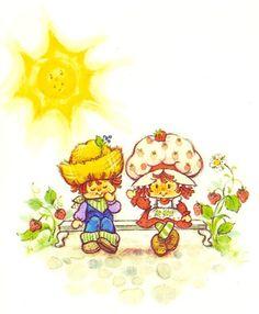 strawberry shortcake and huckleberry pie