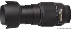Nikon 55-200mm f/4-5.6G AF-S DX Lens.  For more images and information on camera gear please visit us at www.The-Digital-Picture.com