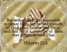 Seek Him!!! Hebrews 11, Gold Rings, God, Dios, Allah, The Lord