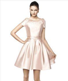Pronovias Nasia cocktail dress http://lamariee.hu/menyasszonyi-ruha-kollekciok/alkalmi-ruhak/pronovias-koktelruhak-2015