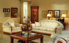 Classic Living Room Furniture French Furniture, Classic Furniture, Furniture Decor, Living Room Furniture, French Living Rooms, Modern Living, Contemporary, Interior, House