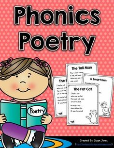 Poems and practice pages for different word families and phonemes to use throughout the year! Short vowels, long vowels, and digraphs included!