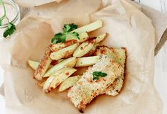 "Crispy Baked ""Fish and Chips"" Recipe - Oprah.com"