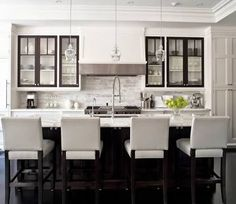 asymmetrical kitchen island - Google Search