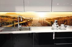 Fliesenspiegel, Küchenrückwand, Nischenverkleidung, perfekt für jede Küche
