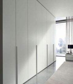 Walk-in Closets + Wardrobes - modern - closet - los angeles - Architectural Elements + Design The Effective Pictures We Offer You About wooden closet doors A quality picture can tell you many things. Wardrobe Door Handles, Wardrobe Doors, Wardrobe Closet, Walk In Closet, Hallway Closet, Bedroom Cupboard Designs, Bedroom Closet Design, Bedroom Cupboards, Modern Closet Doors