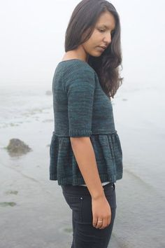 Can't decide between this sweater and the cream cable sweater... (knitbot)