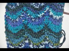How to knit * Chevron Stitch Missoni Style