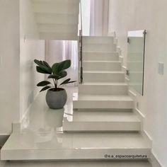 Condo Interior Design, Home Stairs Design, Dream Home Design, Minimal House Design, Modern Exterior House Designs, Home Entrance Decor, Bungalow House Design, Hall Design, Decoration